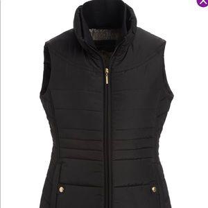 Wheatherproof black puffer vest size 1X new